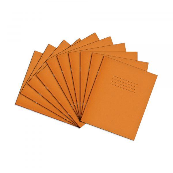 8x6 5 Orange 10 Pack