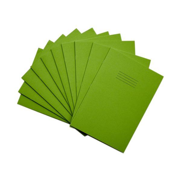 A4 Light Green 10 Pack