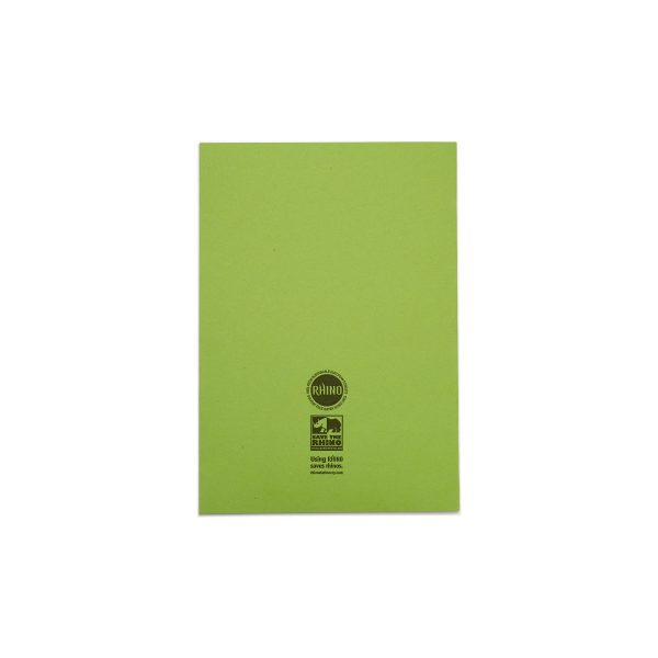 A4 Light Green BACK